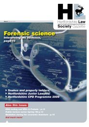 Forensic science - Insite Law Magazine