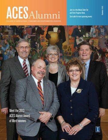 Summer 2013 - ACES Alumni Association