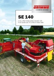 Grimme - 1 row trailed potato harvester SE 140