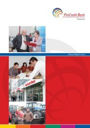 Annual Report 2010 - ProCredit Bank