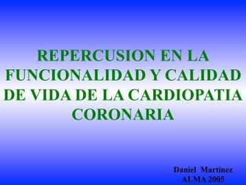 Repercusión en la funcionalidad y calidad de vida de la cardiopatía ...