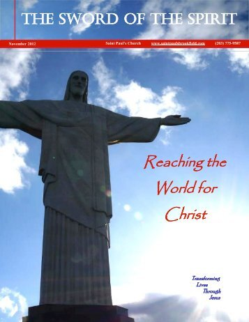 Reaching the World for Christ - St. Paul's Parish