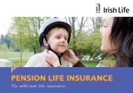 Pension Life Insurance booklet - Irish Life