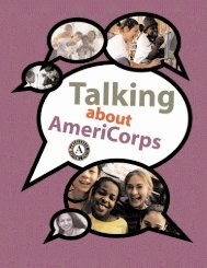 Guide to Talking About AmeriCorps - National Service Inclusion ...