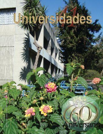 Revista Universidades Número 41, Abril - Junio de 2009 - udual