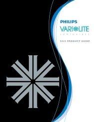 2013 PRODUCT GUIDE - Vari-Lite