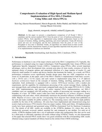 thesis topic around cryptography
