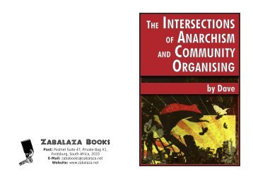The Intersections of Anarchism and Community ... - Zabalaza Books