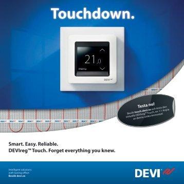 DEVIreg Touch broschyr - Danfoss.com
