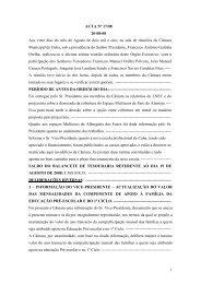ACTA Nº 17/08 - Câmara Municipal de Cuba