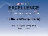 Fast Start Coaching Course - USSA