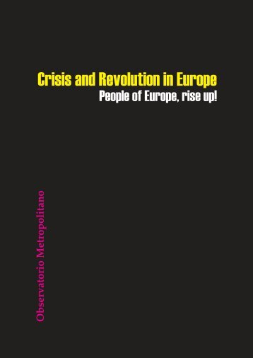 Crisis and revolution in Europe-TdS