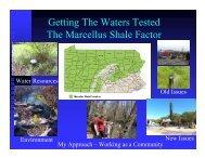 Presentation (pdf) - Center for Environmental Quality, Wilkes University