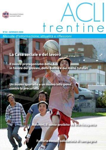 Acli Trentine GENNAIO 2008