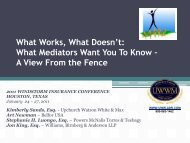 What Works, What Doesn't - Upchurch Watson White & Max