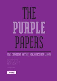 The Purple Papers - Progress