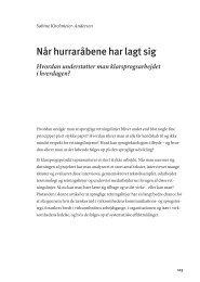 Når hurraråbene har lagt sig - Dansk Sprognævn