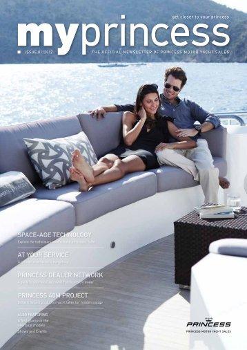 MY Princess - Princess Motor Yacht Sales