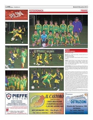 FIMARC - RIVIERA BERICA - SPORTquotidiano
