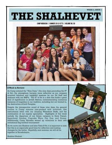 Shalhevet Week 2 - Camp Morasha