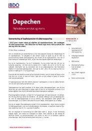 DEPECHEN NR. 4 - BDO