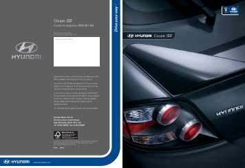 Download Coupe Brochure - John Mulholland Motor Group