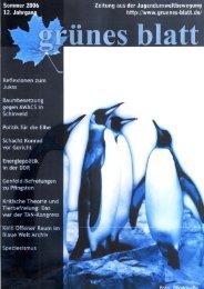 Ausgabe 1/2006 - Projektwerkstatt