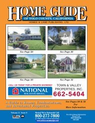 town & valley properties, inc. - Home Guide of Yolo County, CA