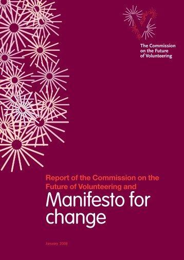 Manifesto for change - Fair Play For Children