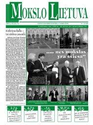 2008 m. birželio 5 d. Nr. 11 - MOKSLAS plius