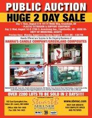 HUGE 2 DAY SALE PUBLIC AUCTION - Stuart B. Millner & Associates