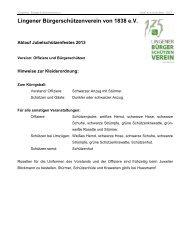 130429_Ablauf-Jubelfest - Lingener Bürgerschützenverein