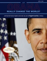 REaLLy ChangE ThE WoRLd? - the Family Office Association