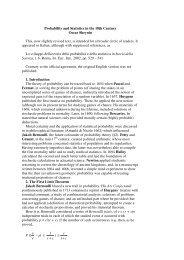 21a. Probability and Statistics in the 18th Century - Sheynin, Oscar