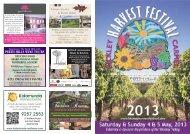 Bickley Harvest Festival Brochure and Map 2013 (2.53 Mb)