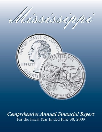 2009 CAFR - Mississippi Department of Finance and Administration