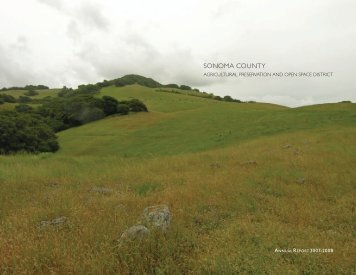 District Annual Report FY07-08 - Sonoma County Agricultural ...