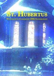 Weihnachten 2006 - St. Hubertus Sinnersdorf