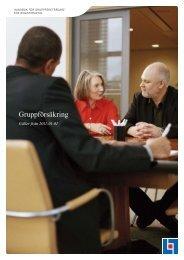 Gruppförsäkring - Länsförsäkringar