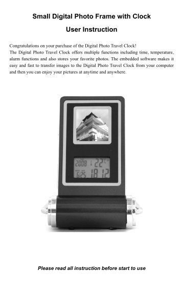 Portable Digital Photo Display - Promaster