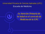 Escuela de Medicina - UPC - Observatorio de Recursos Humanos ...
