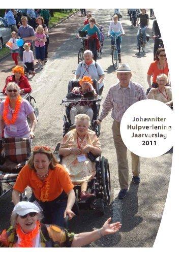 Activiteiten Johanniter Hulpverlening - CBF