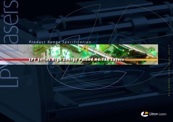 LPY Series High Energy Pulsed Nd:YAG Lasers - UPC