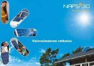NAPS aurinkosähköjärjestelmät
