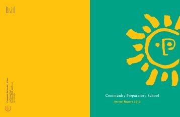 Community Preparatory School | Annual Report 2012