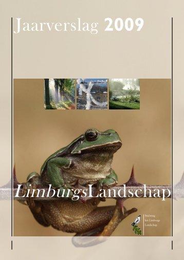 LimburgsLandschap Jaarverslag 2009 - CBF
