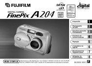 Mode d'emploi FinePix A204.pdf - Fujifilm France