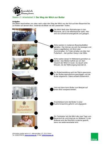 der weg der milch zur butter lernen auf dem bauernhof. Black Bedroom Furniture Sets. Home Design Ideas