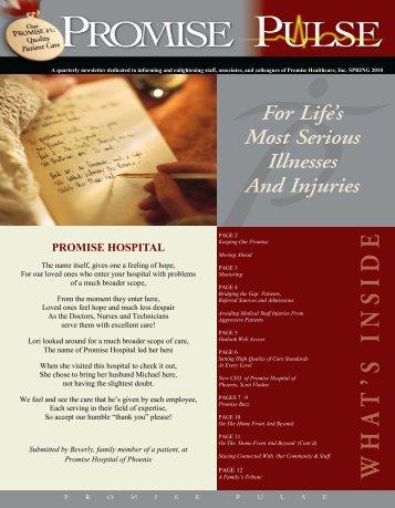 PROMISE HOSPITAL - Promise Healthcare