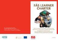 FÁS Learner Charter